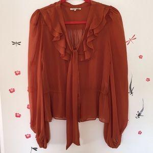 Terra-cotta blouse ❤️💖💗❤️💖💗❤️💗💖